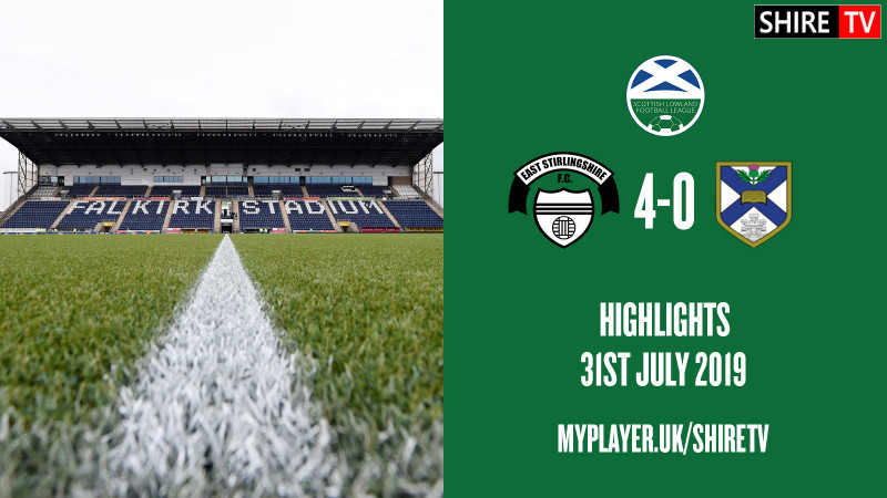 East Stirlingshire V Edinburgh University (Lowland League 31st July 2019)