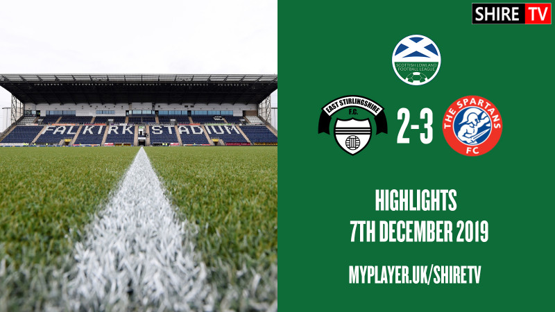 East Stirlingshire V Spartans (Lowland League 7th December 2019)
