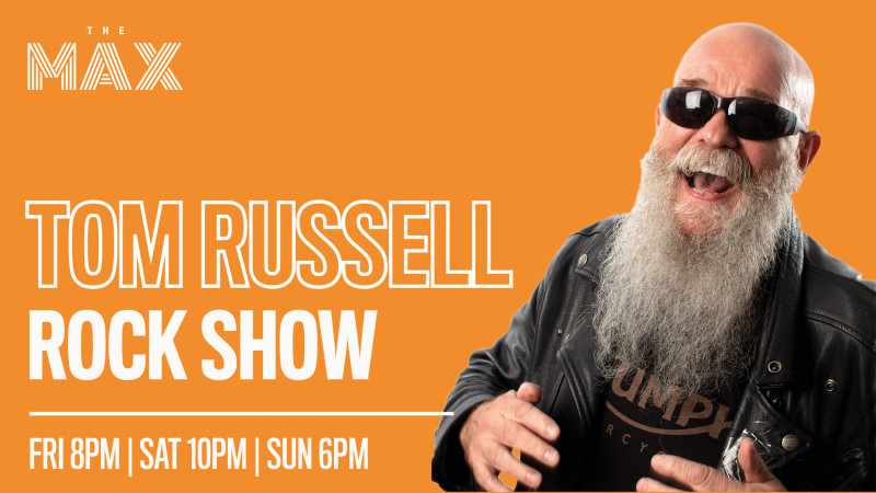 The Tom Russell Rock Show - Saturday 1st of August