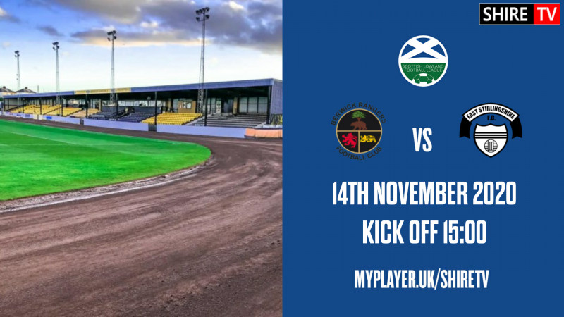 Berwick Rangers V East Stirlingshire (14th November 2020)