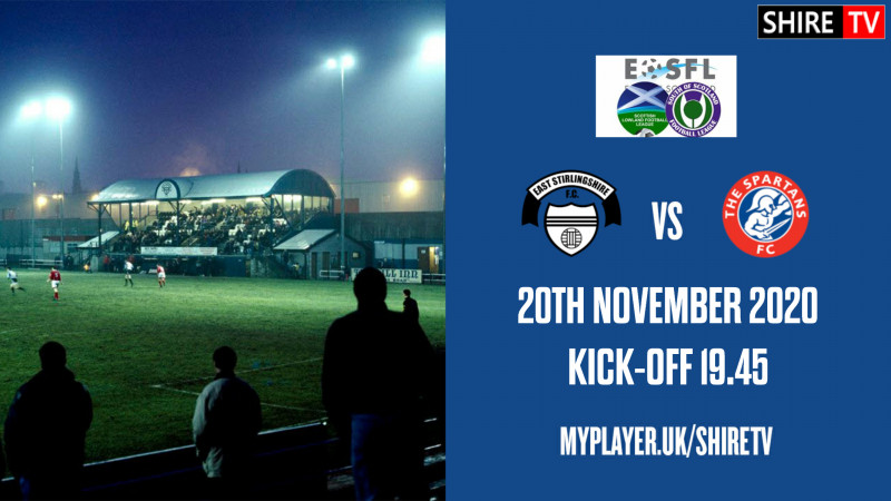 East Stirlingshire V The Spartans (20th November 2020)