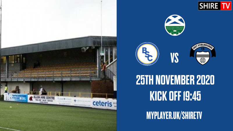 BSC Glasgow V East Stirlingshire (25th November 2020)