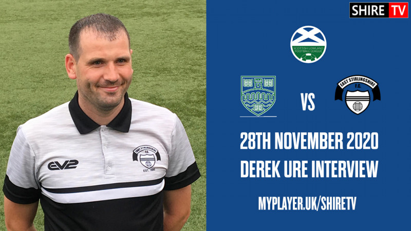Derek Ure - Post Match Vs Stirling Uni - 28th Nov 2020