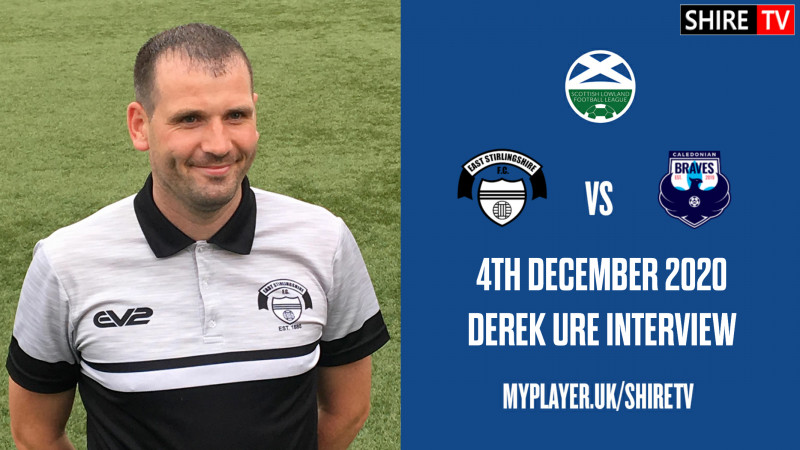 Derek Ure - Post Match Vs Caley Braves - 4th December 2020