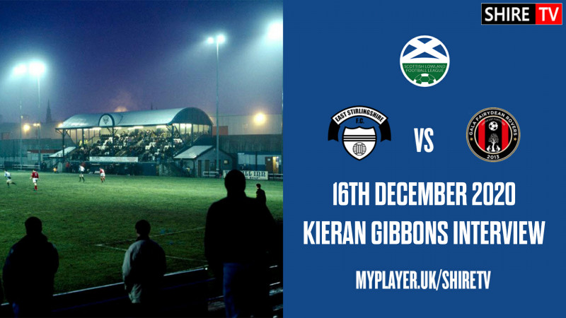 Kieran Gibbons - Post Match V Gala - 16th December 2020