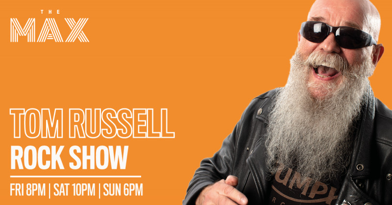 Tom Russell Rock Show   Saturday    19th December