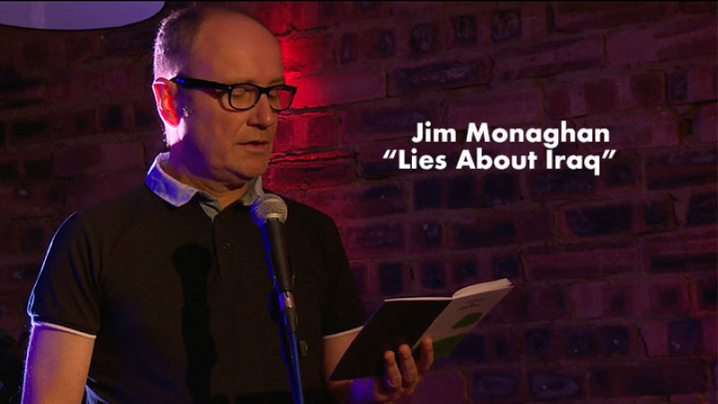 Jim Monaghan - Lies About Iraq - Live at The Blue Arrow