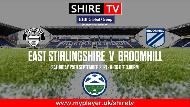 East Stirlingshire v Broomhill (25/9/21)