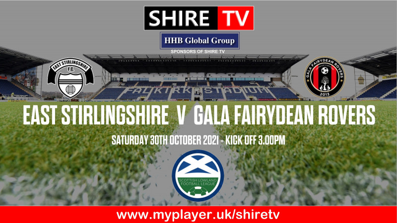 East Stirlingshire v Gala Fairydean Rovers (30/10/21)