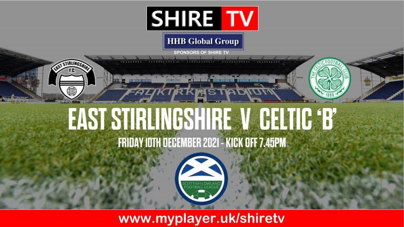 East Stirlingshire v Celtic B (10/12/21)