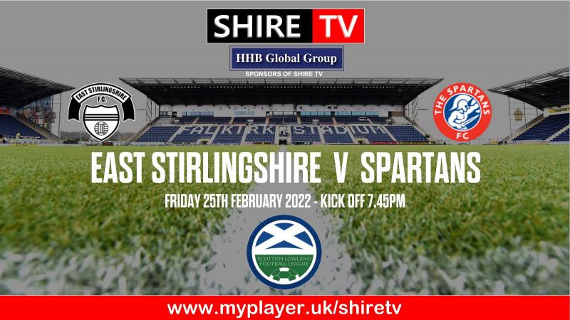 East Stirlingshire v Spartans (25/2/22)