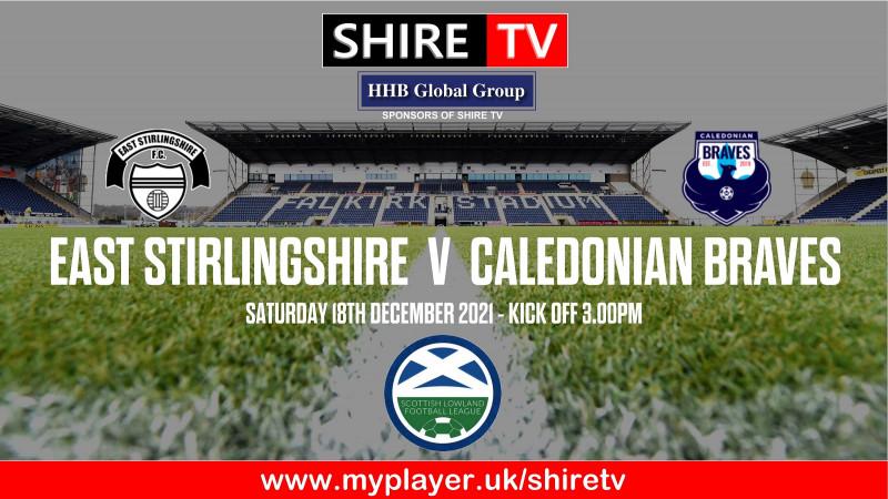 East Stirlingshire v Caledonian Braves (18/12/21)