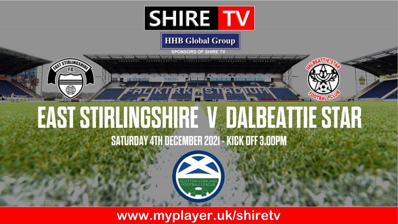 East Stirlingshire v Dalbeattie Star (4/12/21)
