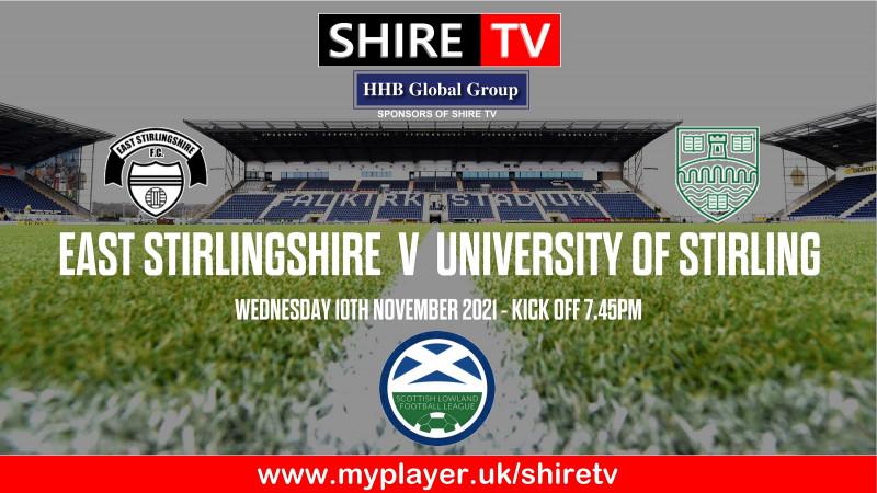 East Stirlingshire v University of Stirling (10/11/21)
