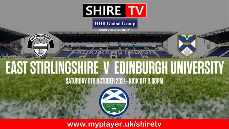 East Stirlingshire v Edinburgh University (9/10/21)
