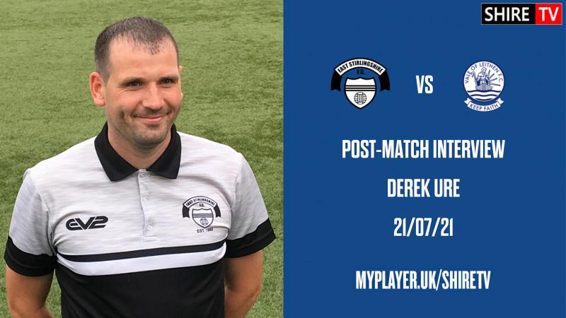 Derek Ure - Post Vale of Leithen - 21/7/21