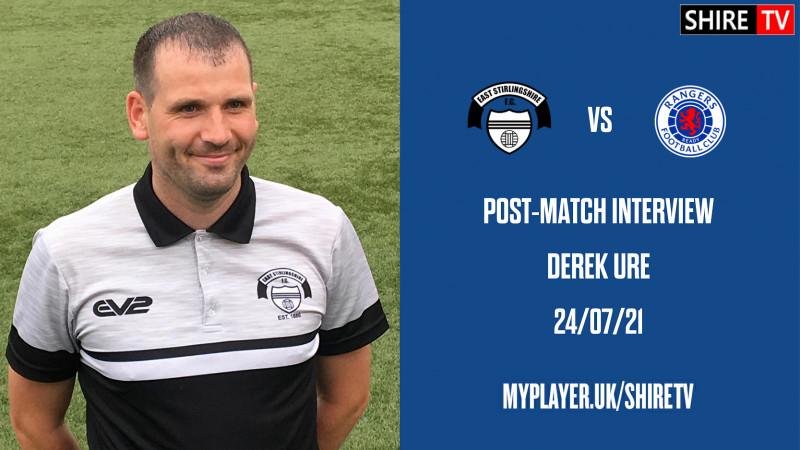 "Derek Ure - Post Rangers ""B"" - 21/7/21"