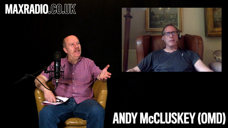 Andy McCluskey (OMD) - Interview