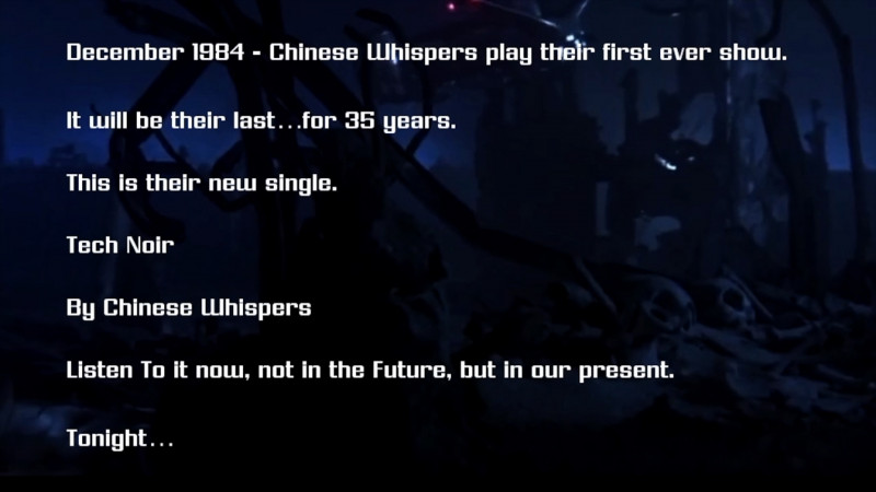 Chinese Whispers - Tech Noir