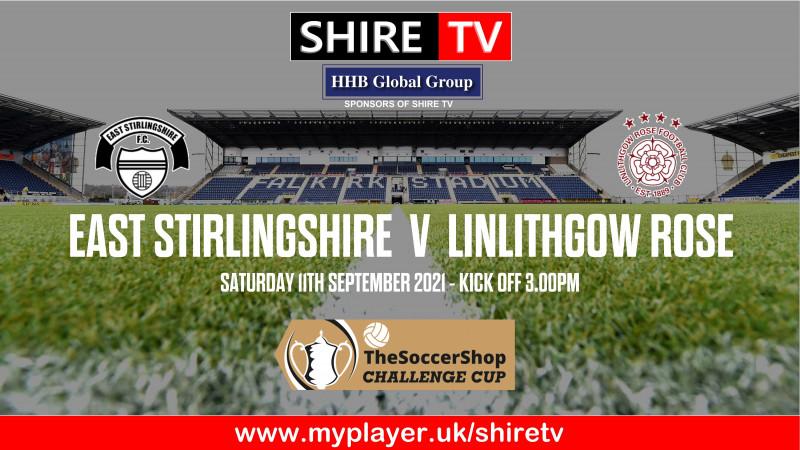 East Stirlingshire v Linlithgow Rose (11/9/21)