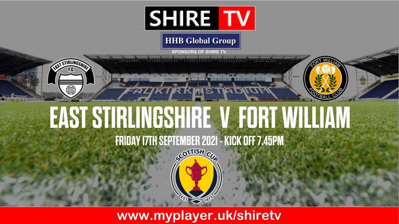 East Stirlingshire v Fort William (17/9/21)