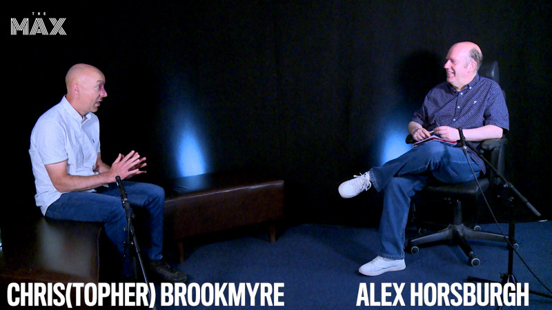 Christopher Brookmyre (Interview)