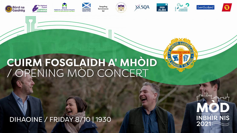 Cuirm Fosglaidh a' Mhòid / Opening Mòd Concert