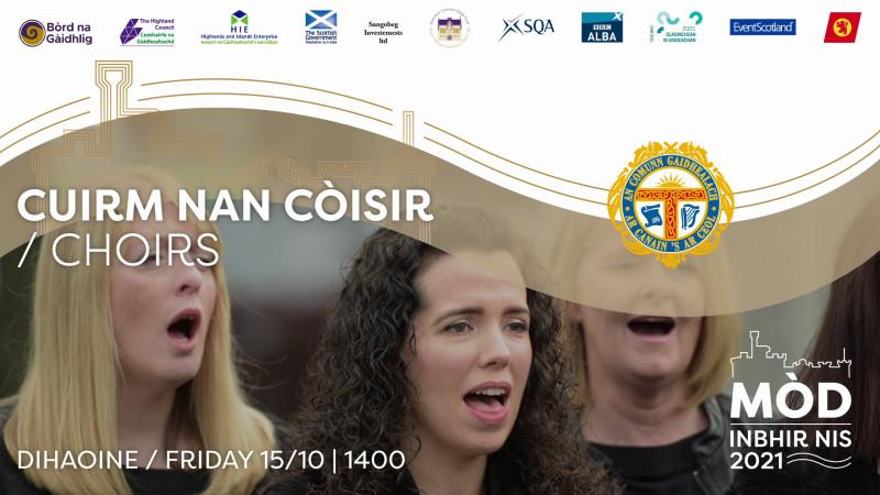 Cuirm nan Còisir Dihaoine / Choir Event Friday